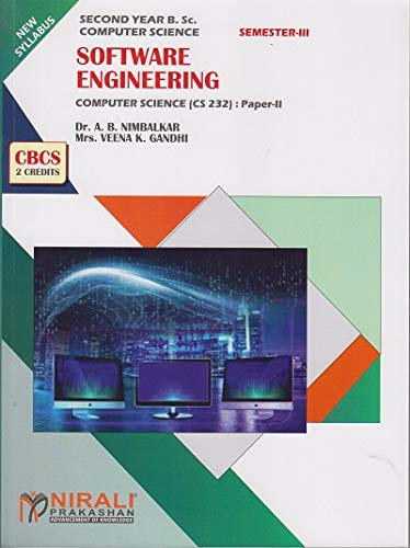 SOFTWARE ENGINEERING - Second Year B.Sc. Computer Science Paper 2 - As per SPPU (Pune University) 2020 Syllabus