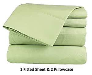 Amazon Com Arlinen 100 Egyptian Cotton 3 Piece 1 Fitted