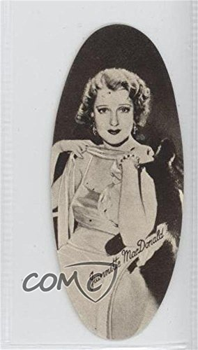 Jeannette MacDonald (Trading Card) 1934 Carreras Film Stars Oval - Tobacco [Base] - Fine Quality Cigarettes #37
