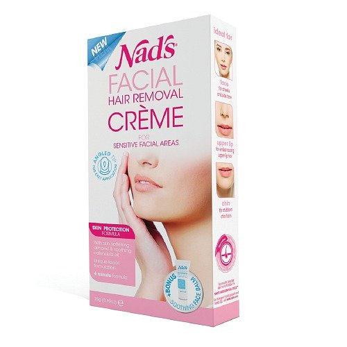 Nad's Facial Hair Removal Cream 0.99 oz (28 g) by Thorlight
