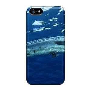 Tpu Phone Case With Fashionable Look For Iphone 5/5s - Ooooo Barracuda