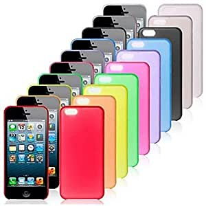 GOG Ultra-thin Protection Case 0.4mm for iPhone5c(Assorted Colors) , Gray