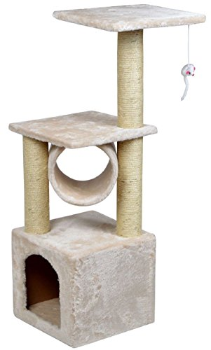 NEW! 36'' Deluxe Cat Tree Condo Furniture Scratching Post Kitten Pet Play W/Toy House by Polar Bear's Pet