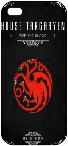 Game of Thrones House Targaryen Fire and Blood iphone case