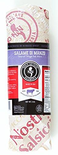 NDUJA ARTISANS Salame di Manzo (Waygu beef salami) 5.5 OZ