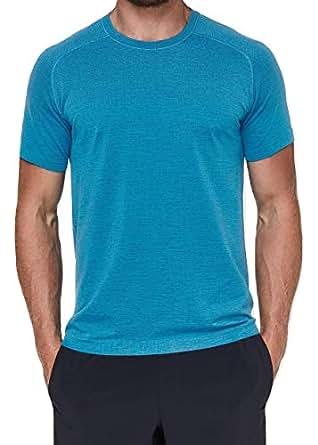 Lululemon Mens Metal Vent Tech Short Sleeve Shirt at