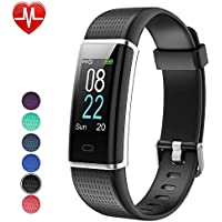 YAMAY Fitness Tracker with Heart Rate Monitor, Fitness...