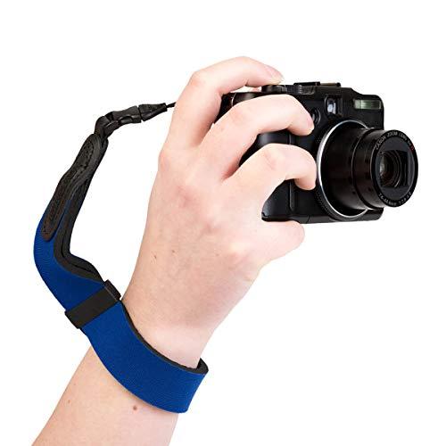 OP/TECH USA Mirrorless Neoprene Camera Wrist Strap (Royal)