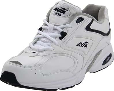 AVIA  Men's A339M Walking Shoe,White/Navy,7.5 XW US
