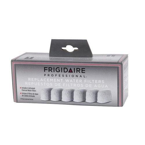Frigidaire Professional Coffee Maker Replacement Charcoal Water Filters 6-Pack