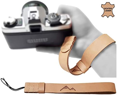 Echt Leder Kamera Handschlaufe Natur Für Dslr Slr Kamera
