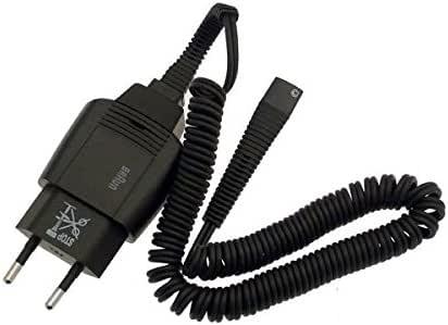 Cordón D alimentación completo negro afeitadora Braun 5710: Amazon ...