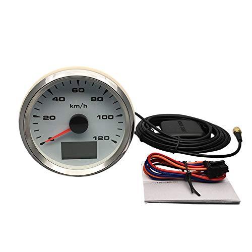 ELING 3-3//8 Truck Car GPS Speedometer Odometer Velometer 0-120KM//H with Trip Mileage 9-32V