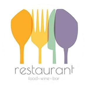 alfombrilla de ratón logotipo del restaurante - ronda - 20cm