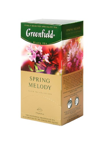 Greenfield Tea, Spring Melody, 25 Count