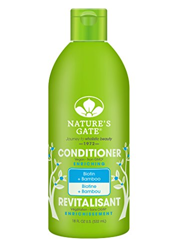 Nature's Gate Biotin Strengthening Conditioner for Weak, ...