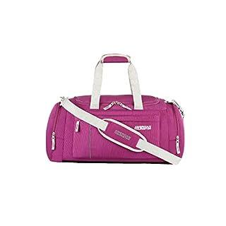 41QzTUvBUgL. SS320 American Tourister Fabric Magenta 28 cms Gym Bag (X-Bags Casual 2)