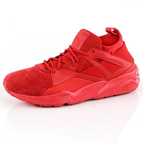 Puma Men Mega Nrgy Sneaker, Navy High Risk Red-high Risk Red