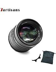 7crafans - Lente Fijo Manual para cámaras Sony E-Mount (55 mm, F1.4 APS-C, Compatible con Sony NEX-6R NEX-7 A3000 A5000 A5100 A6000 A6300 A6500)