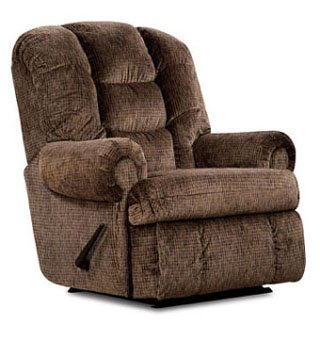 Lane Stallion Comfort King Wallsaver Recliner with Heat and Massage. ($200.00 value) Brown