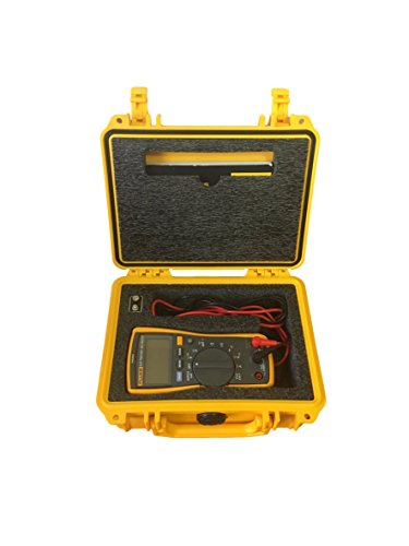 Protective Case for Fluke 115, 117 Multimeters- Pelican 1150 and Custom Foam