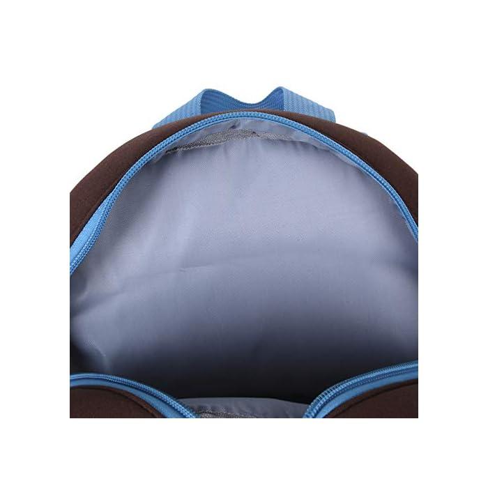 """41QzVMNEZsL Tamaño : 26cm * 10cm * 32cm / 10.24 """"* 3.94"""" * 12.6 """"(L*A*A); 21cm * 8cm * 26cm / 8.27 '' * 3.15 '' * 10.24 '' (L*A*A) Tejido suave para la piel : Neopreno de alta calidad, textura suave y delicada, no se moja fácilmente con el agua, es fácil de limpiar y se seca rápidamente. Correa para el hombro ajustable y reforzada para reducir la presión en la espalda del niño y extender la duración del uso."""