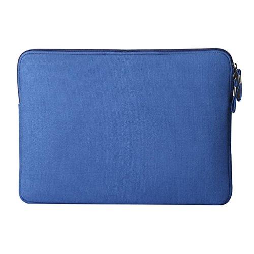 YiJee Wasserdicht Sleeve Laptoptasche Notebookhülle Zubehörtasche für MacBooks 13.3 Zoll Saphir 1 OUuWN1OCL