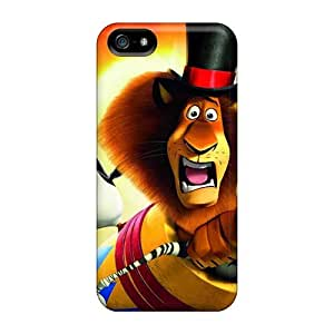 NataliaKrause Iphone 5/5s Perfect Cell-phone Hard Covers Allow Personal Design Lifelike Madagascar 3 Image [Taz4418gkkX]