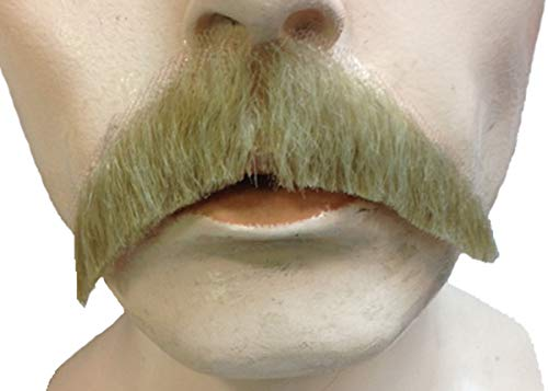 Morris Costumes LW543MBN Mustache Walrus Synthetic - Medium Brown No.4 ()