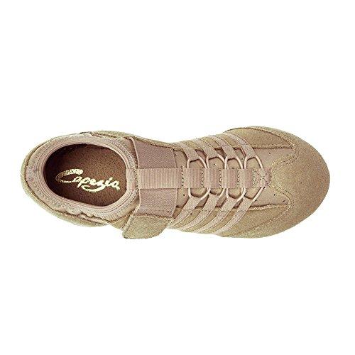 Capezio PP15 Jag Jazzschuh/Sneaker mit geteilter EVA-Sohle Karamell