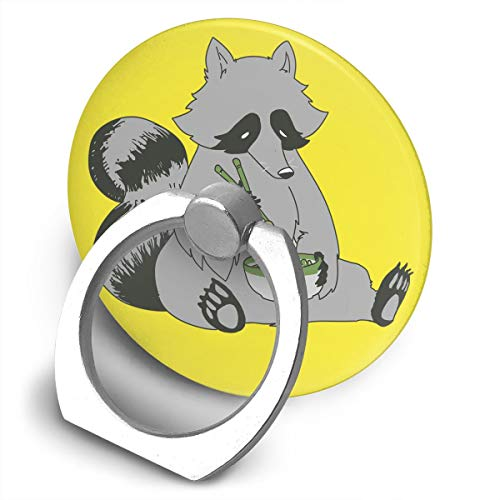 Cell Phone Ring Holder Stand Clever Raccoon 360 Degrees Rotation Universal Finger Grip for All - Clever Raccoons