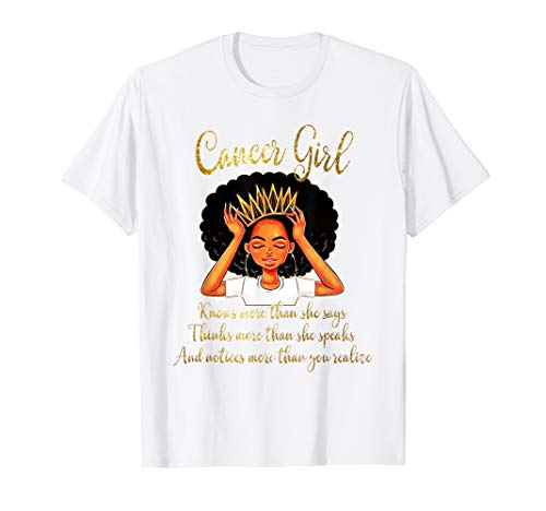 Cancer Girls Are Born in June 21 - July 22 T-shirt