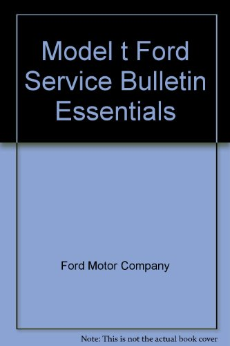 model a ford service bulletins - 8
