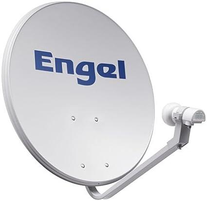 Engel AN7036D - Antena parabólica metálica, 80 cm