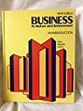 Business, Its Nature and Environment, Raymond Eugene Glos and Richard D. Steade, 0538077301