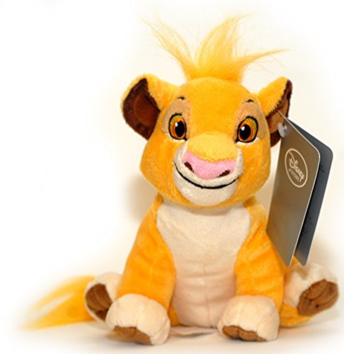 (Disney The Lion King Simba Plush - Mini Bean Bag - 7 (17.8 cm) by Disney)