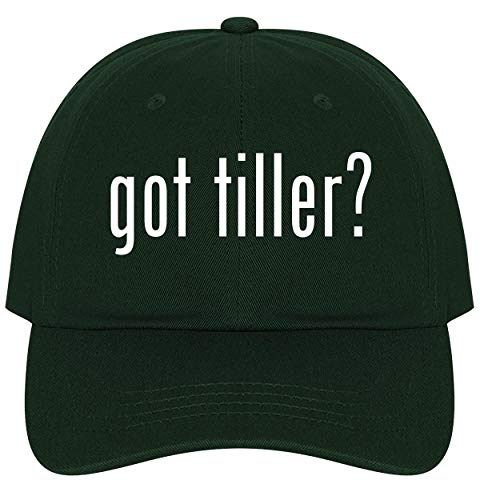 The Town Butler got Tiller? - A Nice Comfortable Adjustable Dad Hat Cap, Forest
