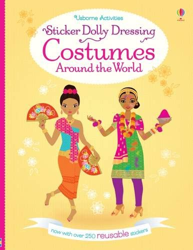 Sticker Dolly Dressing Costumes Around the World [Paperback] Bone Emily