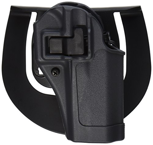 Glock 27 Paddle Holster (BlackHawk Serpa SpoRusseter Belt Holster For Glock 26 Right Hand Grey)