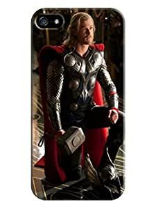 Crystal clear reveal iphone5/5s of Chris Hemsworth Thor in Fashion E-Mall tpu case