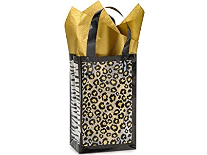 Frosted leopardo Safari bolsas - Rosa Safari bolsas a granel ...