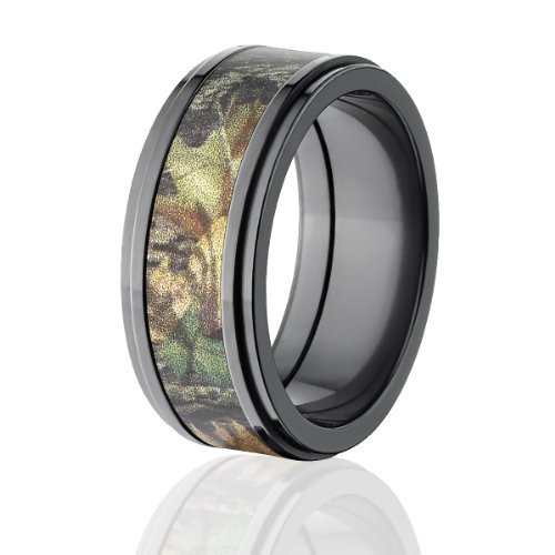 Mossy Oak Rings, Camouflage Wedding Bands, New Breakup Camo Ring For Sale