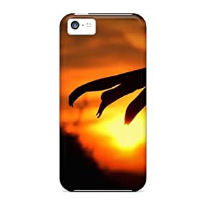 Series Skin Case Cover For Iphone 5c(landscape Camomile Sunset)