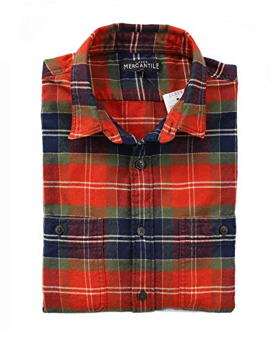 J.Crew Mercantile Men's Slim-Fit Long-Sleeve Plaid, used for sale  Delivered anywhere in USA