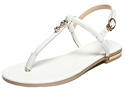 IDIFU Shoes Sandals White Women T Aqzv4S
