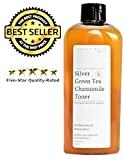 Colloidal Silver Toner with Green Tea & Chamomile 84% Organic - Alcohol & Oil Free - All Skin Types including Acne & Rosacea - Vegan Chemical Toxic Free