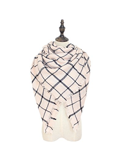 Spring fever Fashion Stylish Beautiful Long Oversized Plaid Scarf Shawl Pashmina A24 (Nice Magic Trail Mix compare prices)
