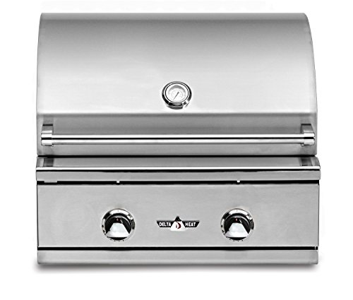 Delta Heat 26 Inch Built In Natural Gas Grill
