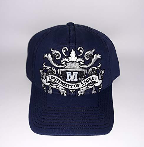 Signatures' University of Maine Black Bears Adjustable Buckle Hat Embroidered ()