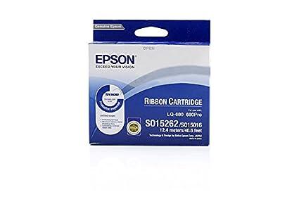 Epson Cartucho negro SIDM para LQ-670/680/pro/860/1060/25xx ...